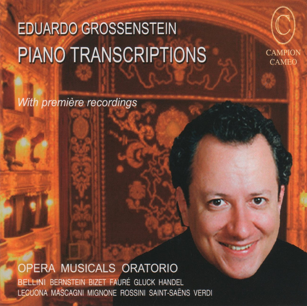 CD - Grossenstein: Piano Transcriptions From Operas, Oratorios & Musicals - Campion CAMEO 2028