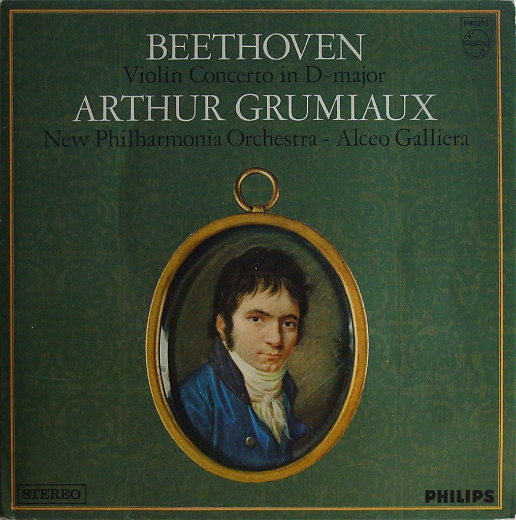 LP - Grumiaux/Galliera: Beethoven Violin Concerto Op. 61 - Philips 802 719 LY