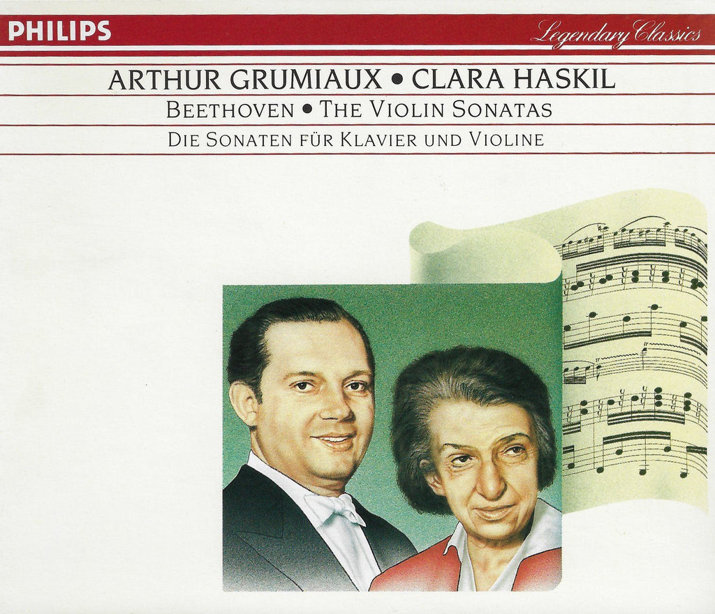 Grumiaux/Haskil: Beethoven 10 Violin Sonatas - Philips 422 140-2 (3CD set)