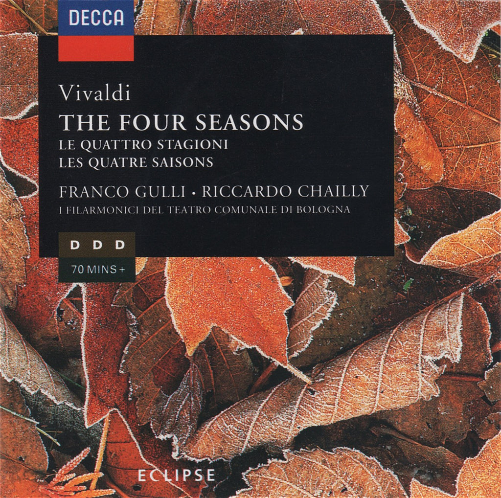 CD - Gulli/Chailly: Vivaldi The 4 Seasons, Etc. - Decca 448 225-2 (DDD)