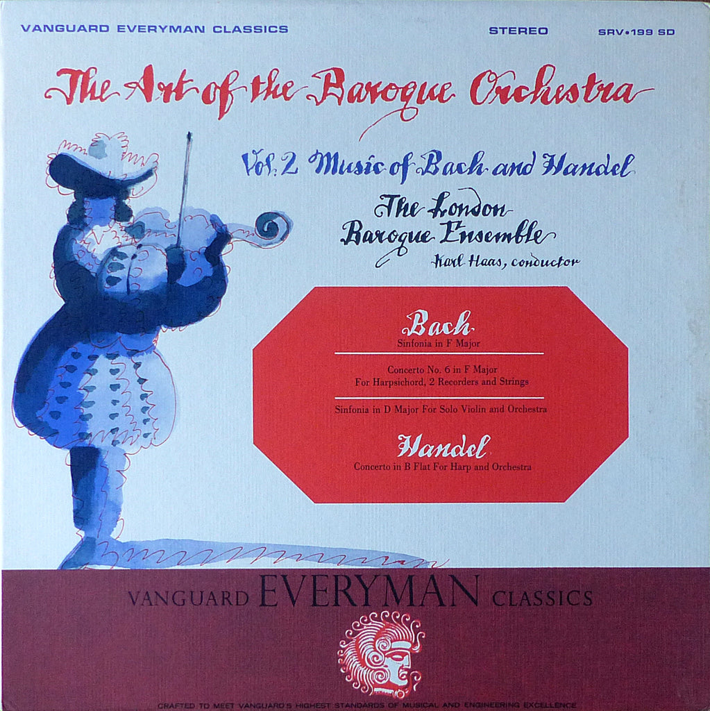 Haas: Art of the Baroque Orchestra (Bach & Handel) - Vanguard SRV-199 SD