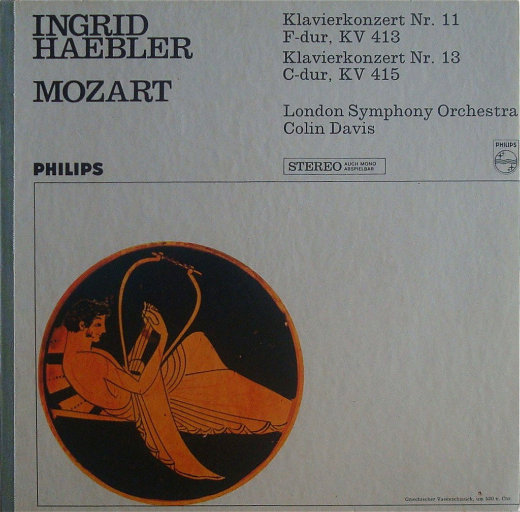 LP - Haebler/Davis: Mozart Piano Concertos No. 11 & No. 13 - Philips 835 392 LY