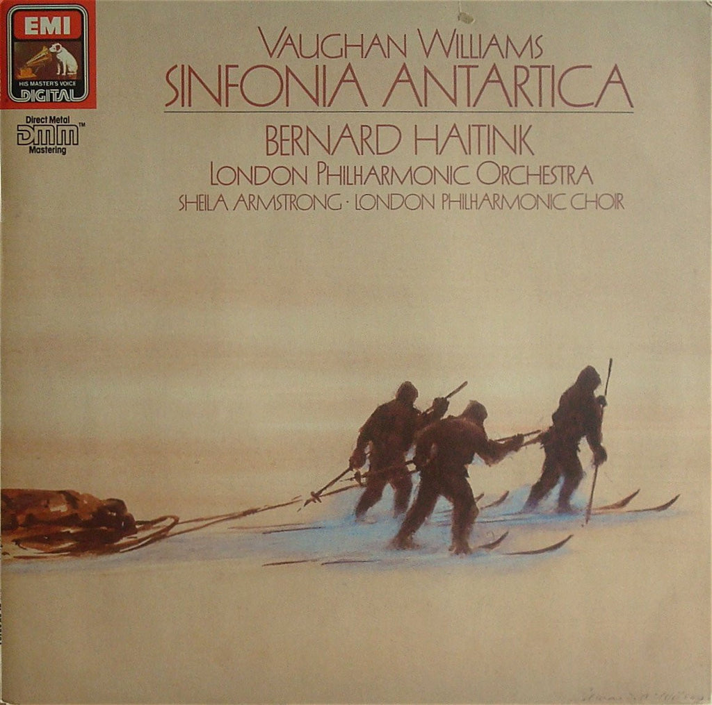 LP - Haitink/LPO: Vaughan Williams Sinfonia Antarctica - EMI 27 0318 1 (DDD)