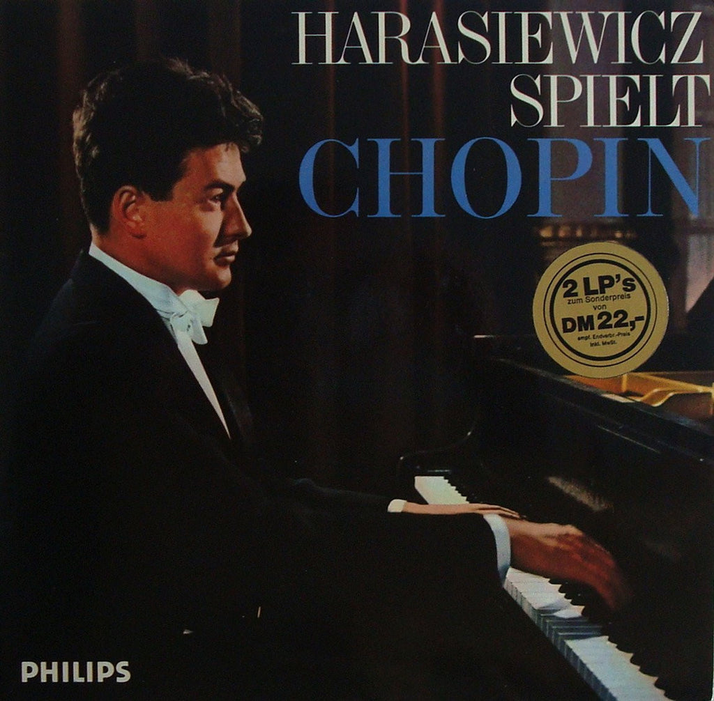 LP - Harasiewicz: Chopin Collection (Sonata No. 2, Etc.) - Philips H 71 AX 218 (2LPs)