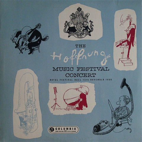 LP - Hoffnung Music Festival Concert (13 November 1956) - Columbia 33CX 1406