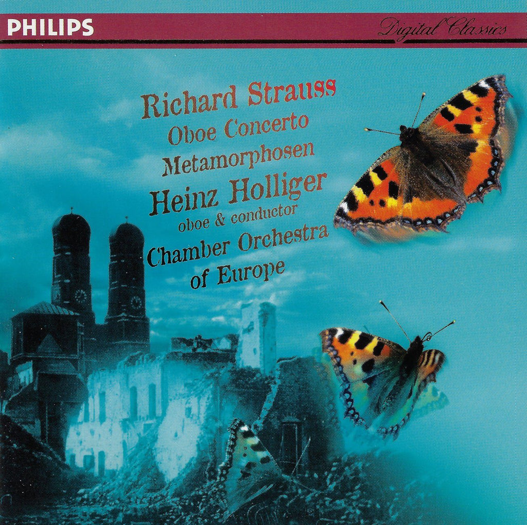 Holliger: R. Strauss Oboe Concerto + Metamorphosen - Philips 446 105-2
