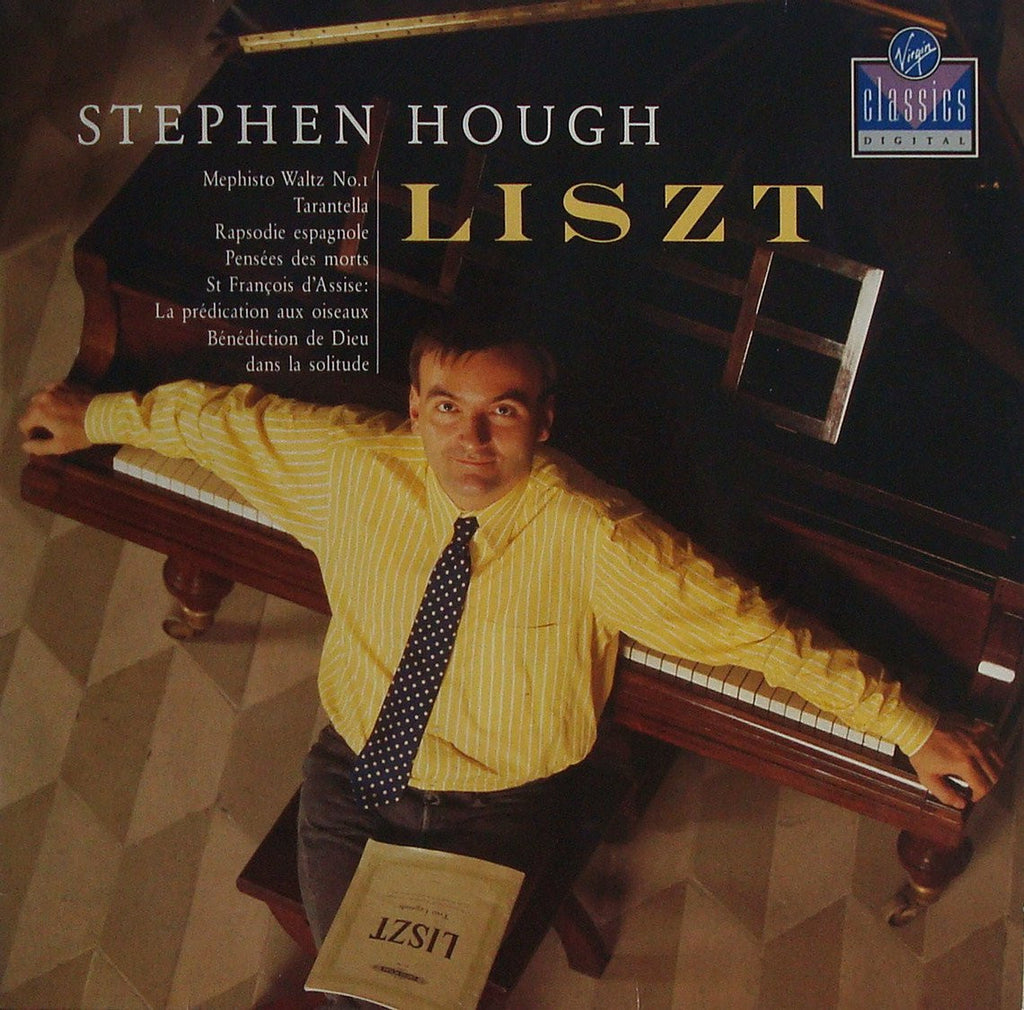 LP - Hough: Liszt Bénédiction De Deu Dans La Solitude, Etc. - Virgin VC 7 90700-1 (DDD)