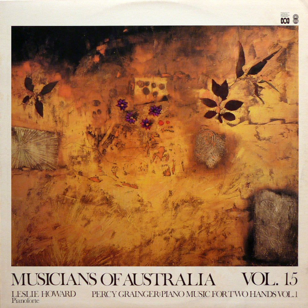 "LP - Howard: Grainger Piano Music (""Musicians Of Australia Vol. 15) - ABC R-03433"