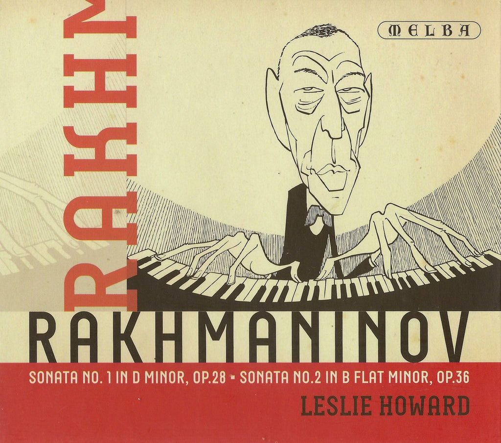 CD - Howard: Rachmaninov Piano Sonatas Nos. 1 & 2 - Melba MR301127 (DDD)