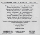 CD - Jochum Centenary Vol. 1: Telefunken & RRG Recs. - Tahra TAH 466-469 (4CD Set, Sealed)