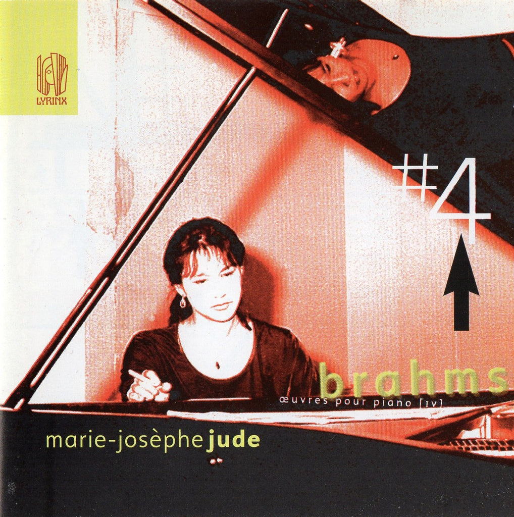 CD - Jude: Brahms Piano Works Vol. IV (Piano Sonata No. 3, Etc.) - Lyrinx LYR 167 (DDD)