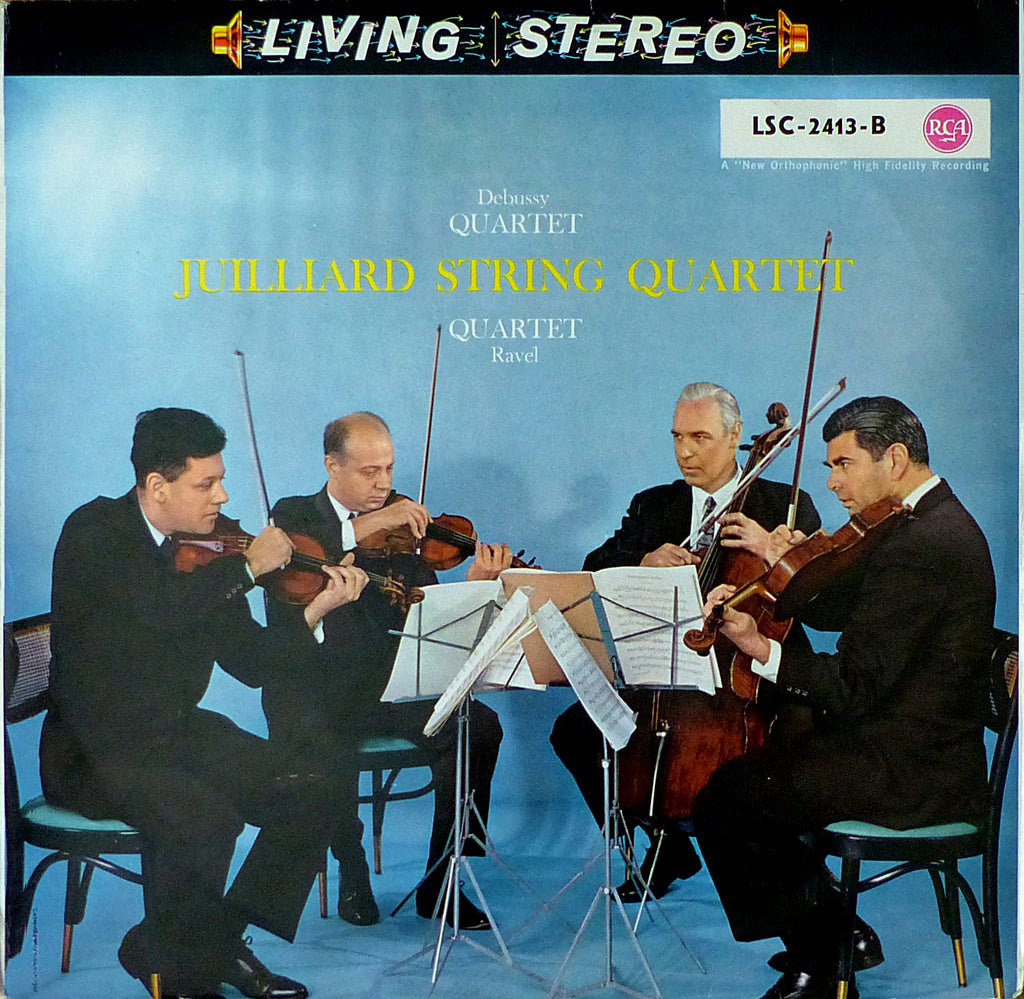 Juilliard Quartet: Debussy & Ravel SQs - German RCA LSC-2413-B