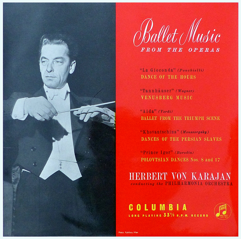 Karajan: Ballet Music from the Operas - Columbia 33CX 1327