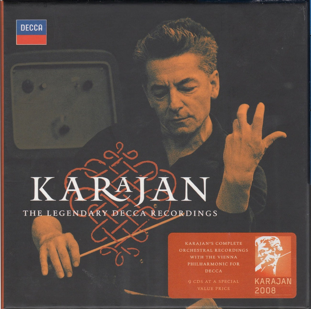 CD - Karajan/VPO: Legendary Decca Recordings - Decca 478 0155 (9CD Set)