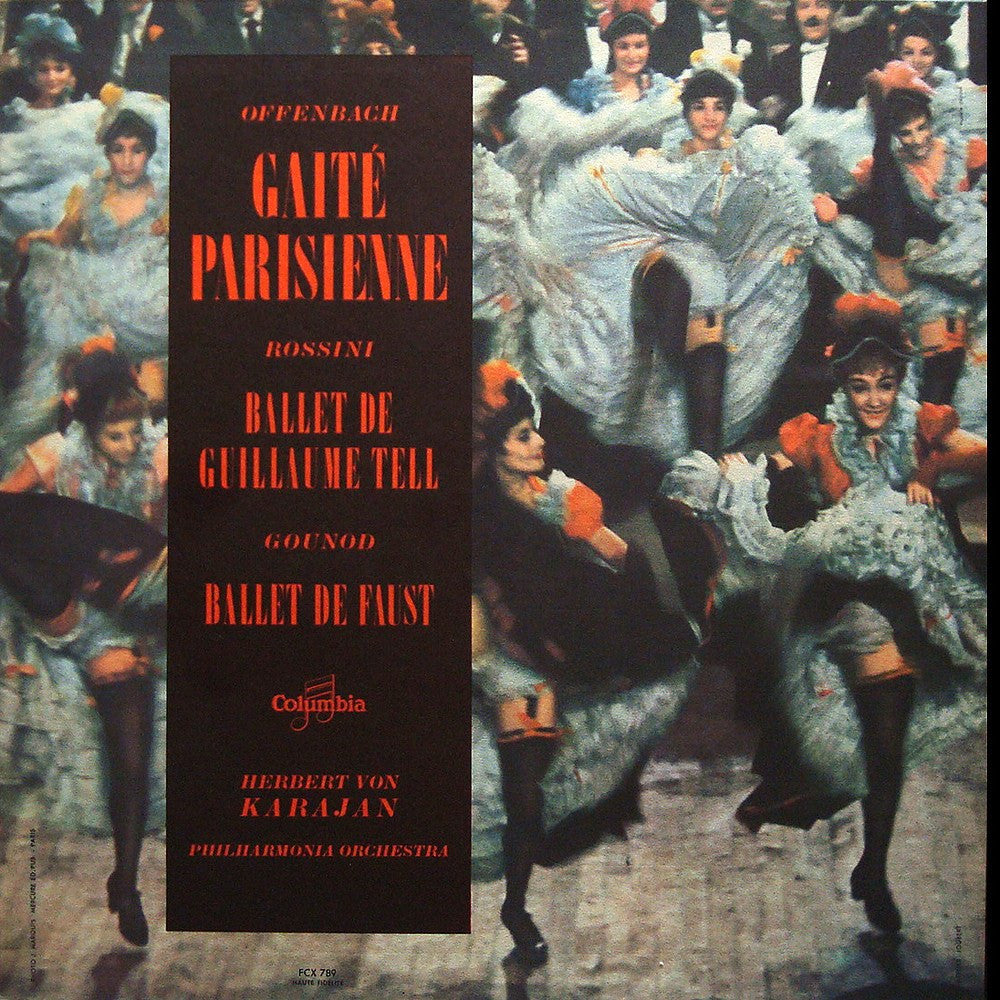 LP - Karajan: Gaite Parisienne / Faust Ballet Music - FCX 789 (ds), Perfect Jacket