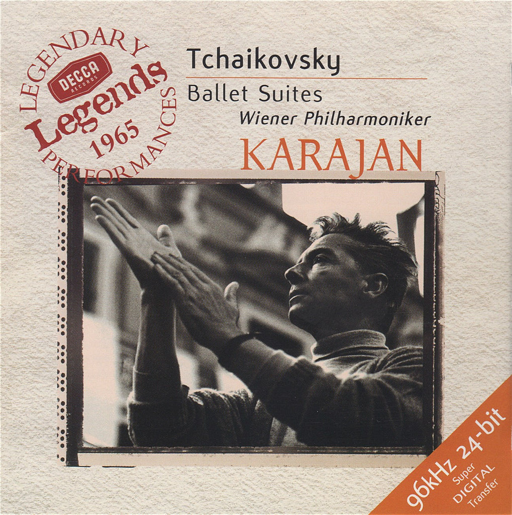 CD - Karajan/VPO: Tchaikovsky Ballet Suites - Decca Legends 289 466 379-2