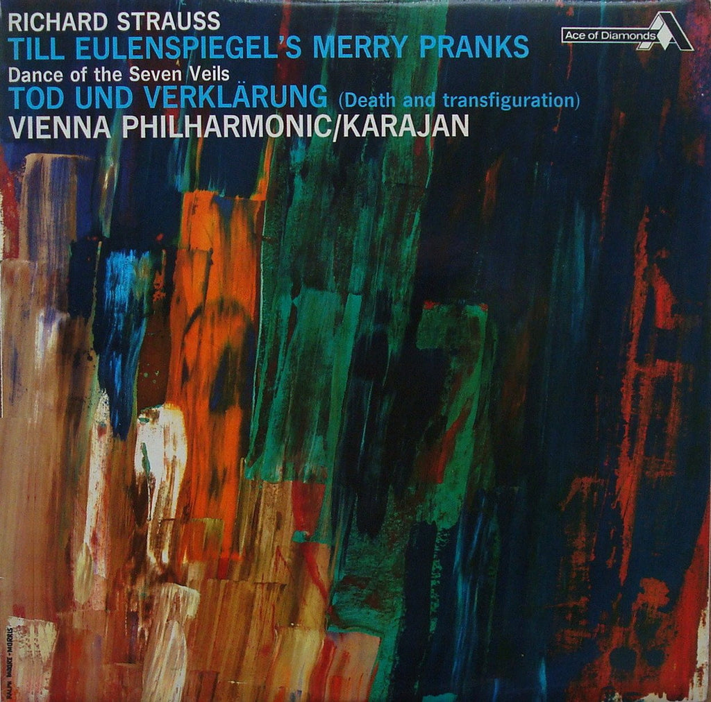 LP - Karajan/VPO: Richard Strauss Death & Transfiguration, Etc. - Decca SDD 211