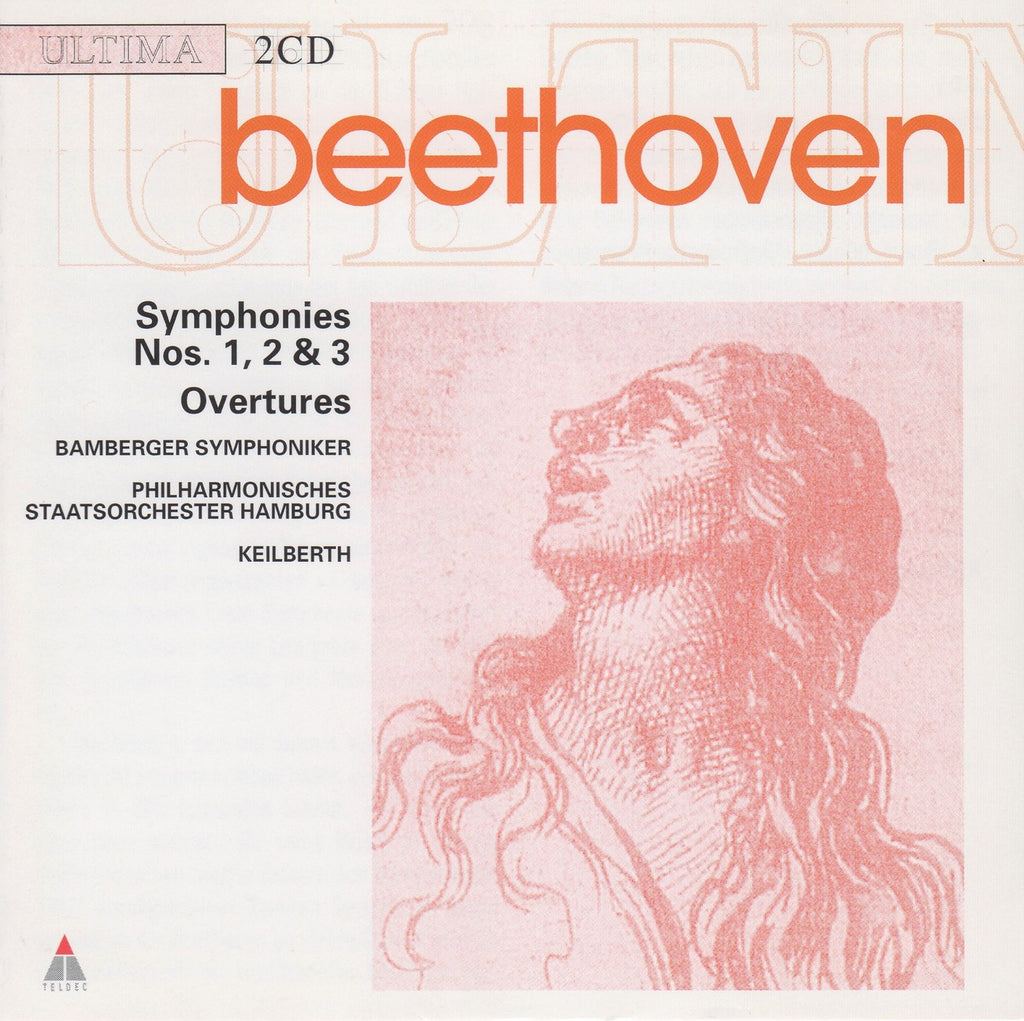 CD - Keilberth: Beethoven Symphonies Nos. 1, 2 & 3, Etc. - Teldec 6 3894-21335-2 (2CD Set)