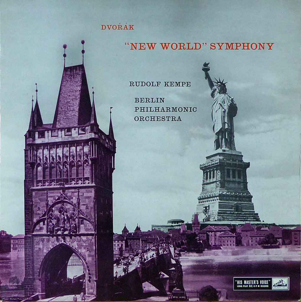"Kempe/BPO: Dvorak Symphony No. 9 ""New World"" - HMV ALP 1623"