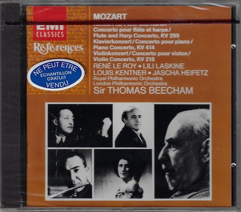 Kentner: Mozart Piano Concerto K. 414, etc. - EMI CDH 7 63820 2 (sealed)
