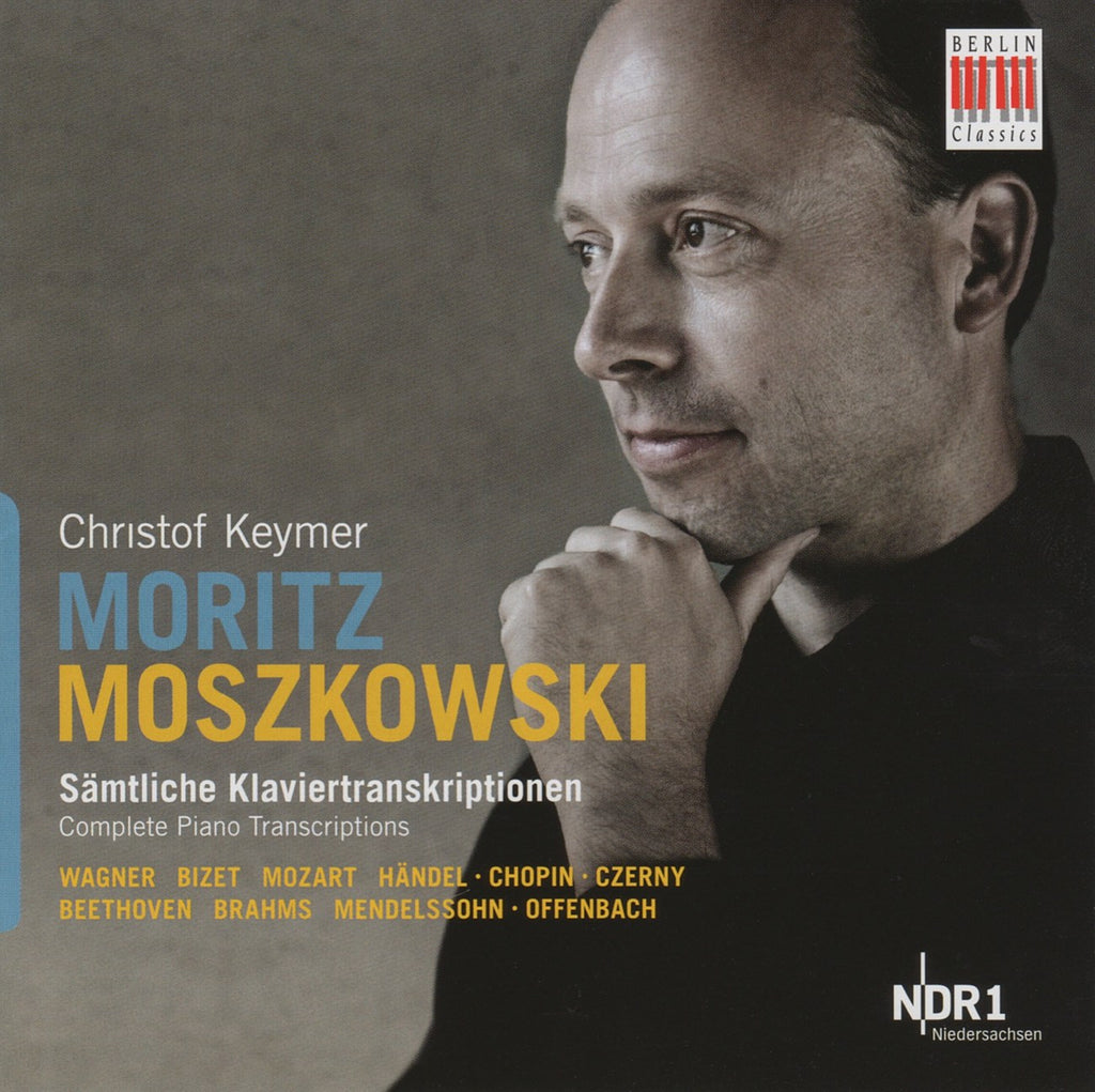 CD - Keymer: Moszkowski Piano Transcriptions - Berlin Classics 0016402BC (DDD, 2CD Set)