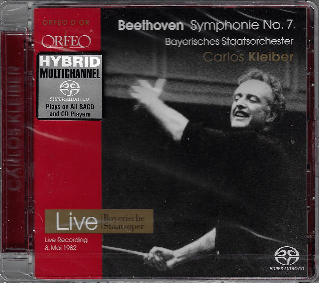 Carlos Kleiber: Beethoven Symphony No. 7 - Orfeo C 700 051 B (sealed)