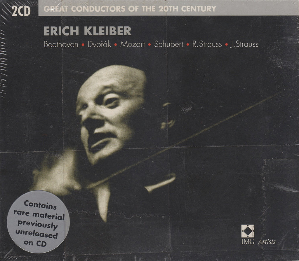 CD - Kleiber: Great Conductors Of The 20th Century - EMI 5 75115 2 (2CD Set, Sealed)