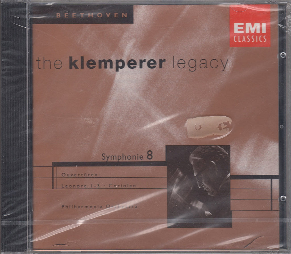 CD - Klemperer: Beethoven Symphony No. 8 + 4 Overtures - EMI 5 66796 2 (sealed)
