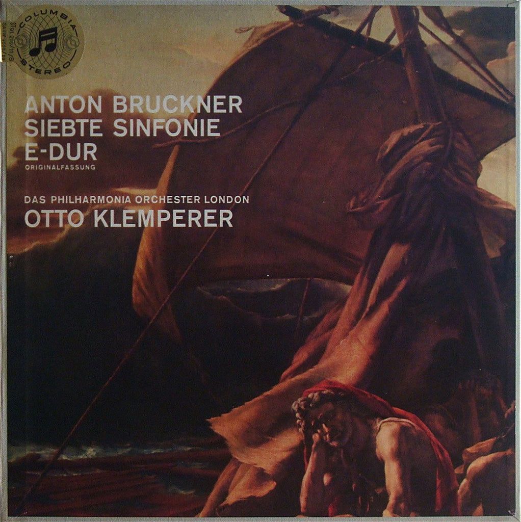 LP - Klemperer: Bruckner Symphony No. 7 - Columbia STC 91210/1 (2LP Box)