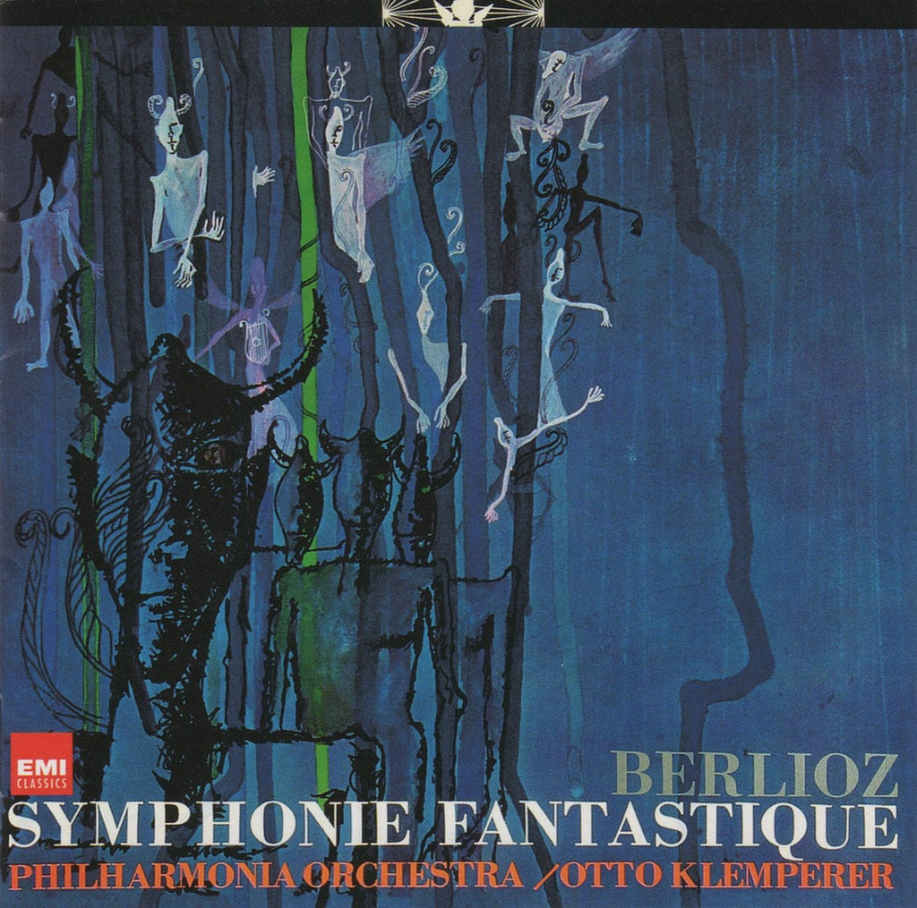 CD - Klemperer: Berlioz Symphonie Fantastique Op. 14 - EMI Japan TOCE-13127