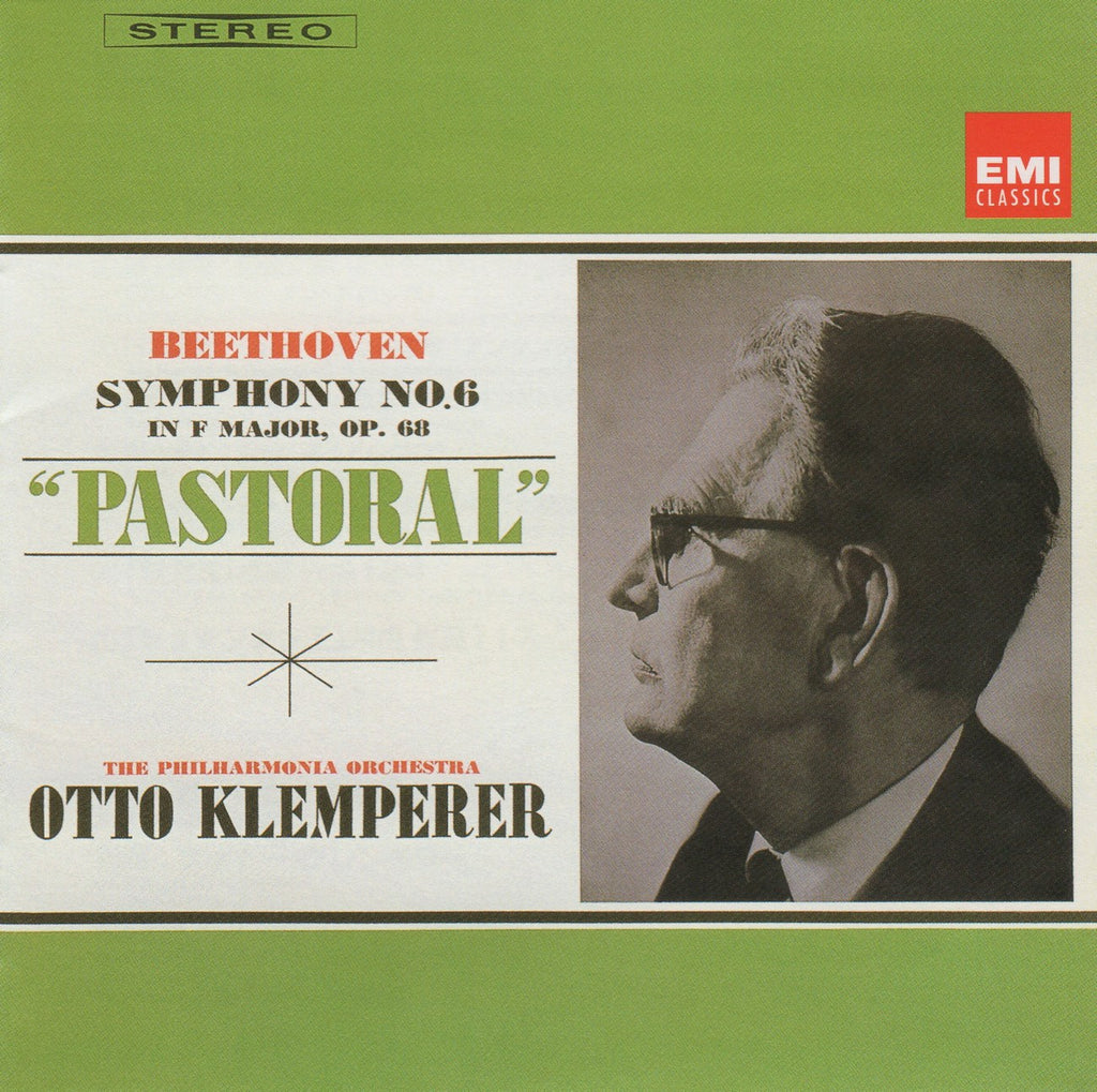 "CD - Klemperer: Beethoven Symphony No. 6 ""Pastorale"", Etc. - EMI Japan TOCE-13006"