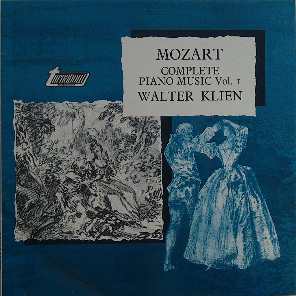 LP - Klien: Mozart Complete Piano Music Vol. 1 - Vox Turnabout TV 37001S