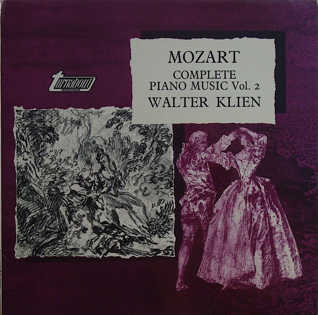 LP - Klien: Mozart Complete Piano Music Vol. 2 - Vox Turnabout TV 37002S