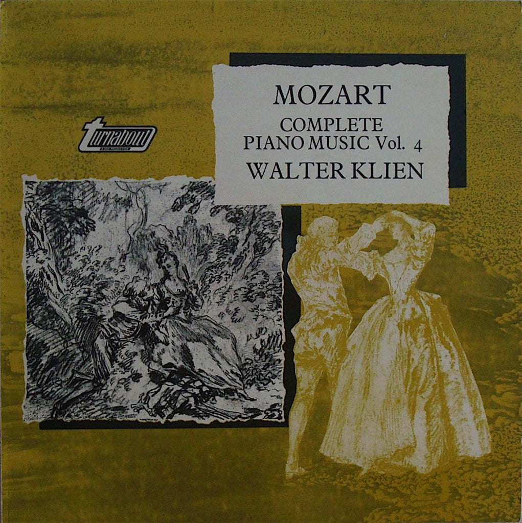 LP - Klien: Mozart Complete Piano Music Vol. 4 - Vox Turnabout TV 37004S