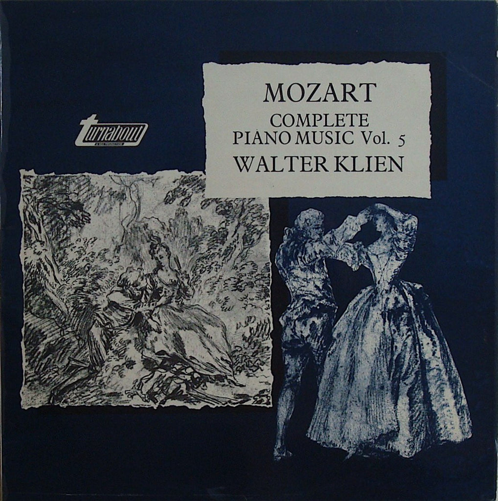 LP - Klien: Mozart Complete Piano Music Vol. 5 - Vox Turnabout TV 37005S