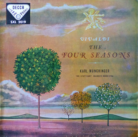 Krotzinger/Munchinger: Vivaldi 4 Seasons - Decca Spain SXL 2019