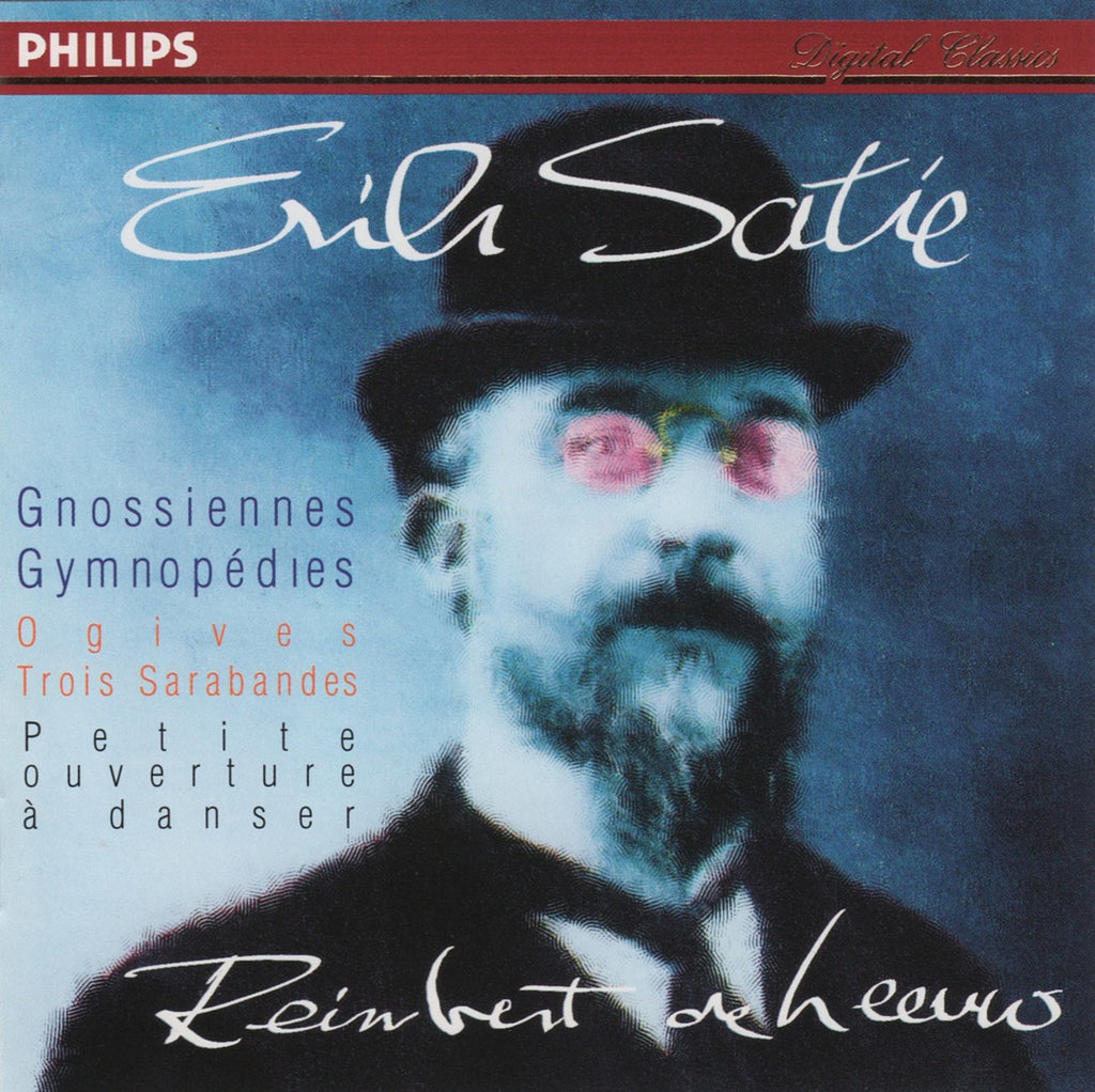 CD - Leeuw: Satie Gnossiennes, Gymnopedies, Etc. - Philips 446 672-2 (DDD)