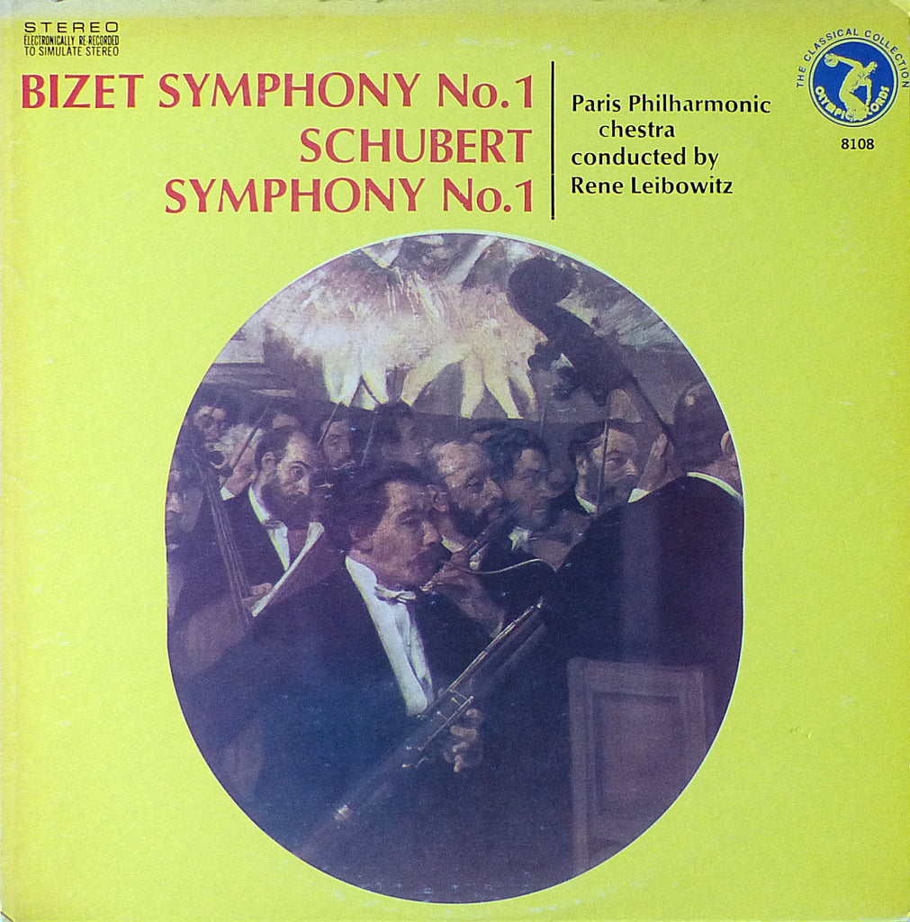 Leibowitz: Bizet & Schubert Symphonies No. 1 - Olympic Records 8108