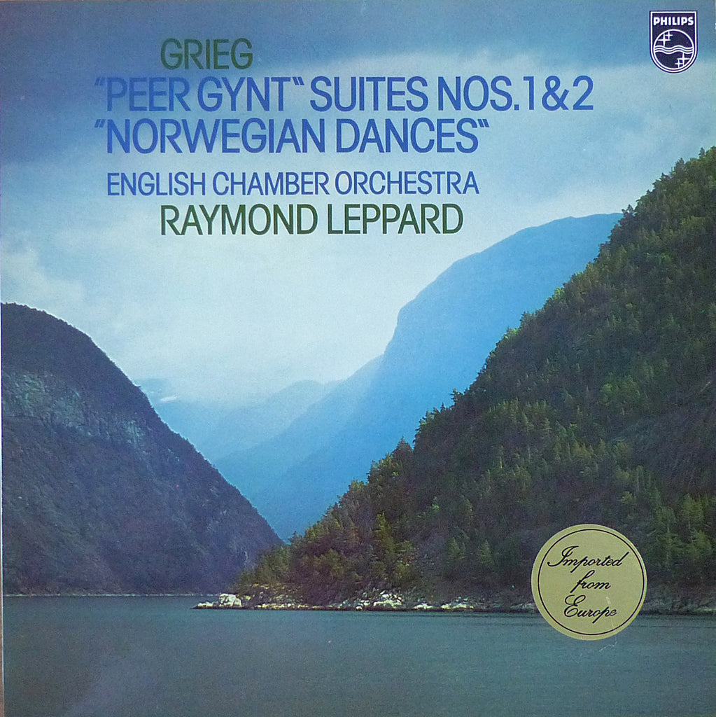 Leppard: Grieg Peer Gynt Suites 1 & 2, Norwegian Dances - Philips 6500 106