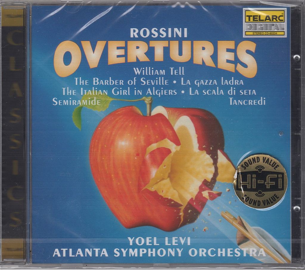 CD - Levi/Atlanta SO: Rossini Overtures - Telarc CD-80334 (DDD) (sealed)