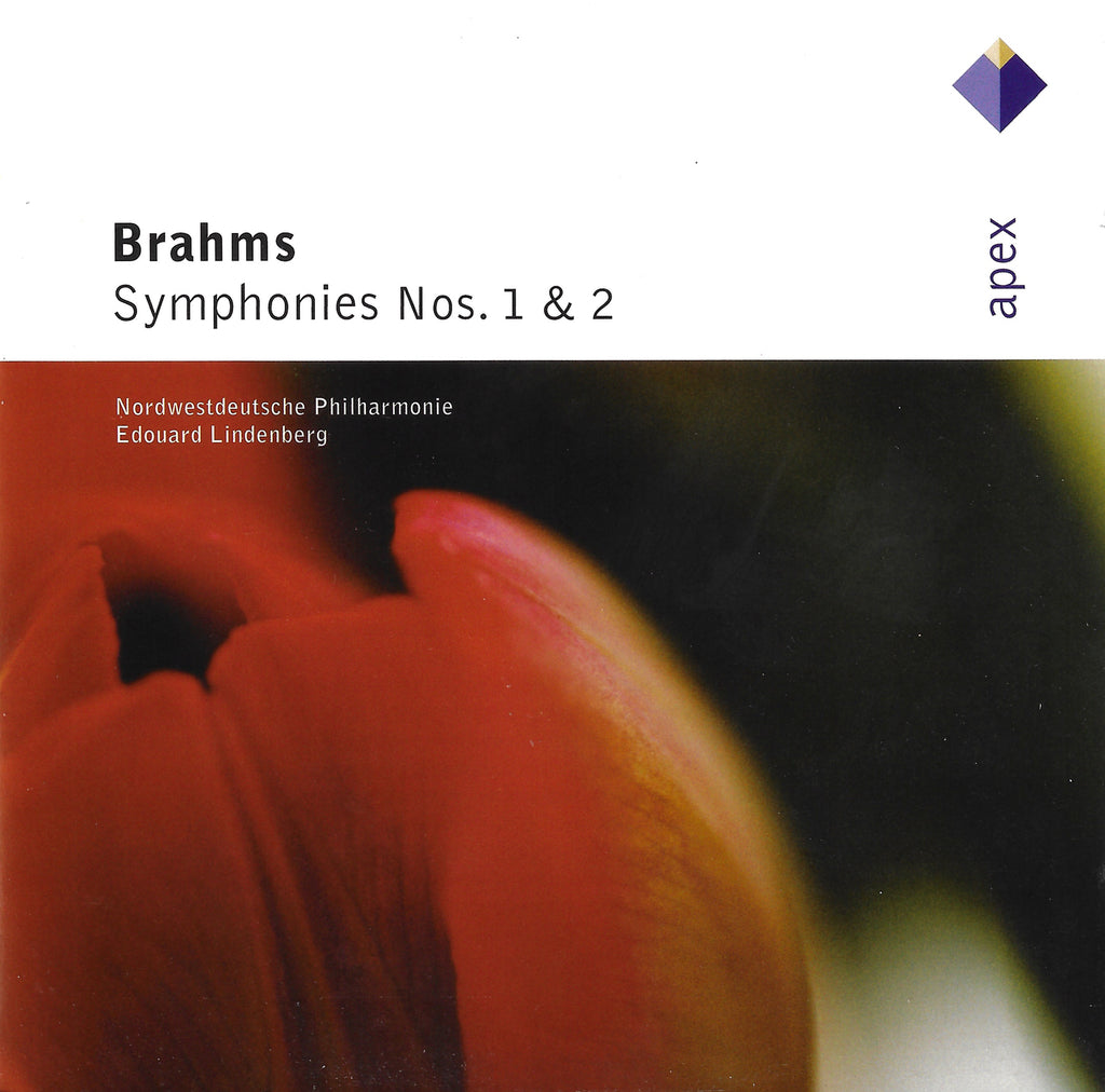 Lindenberg: Brahms Sym 1 & 2 - Warner-Apex 0927 49879 2 (2CD set)