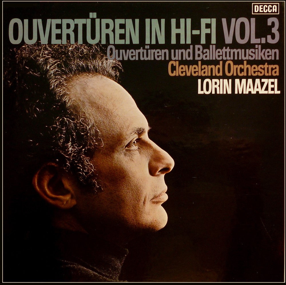 LP - Maazel/Cleveland O: Overtures In Hi-Fi: Decca 635383 DX (2LP Box) - Like New