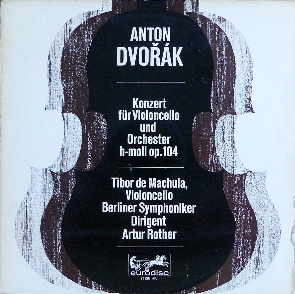 Machula/Rother: Dvorak Cello Concerto Op. 104 - Eurodisc 71 128 KK