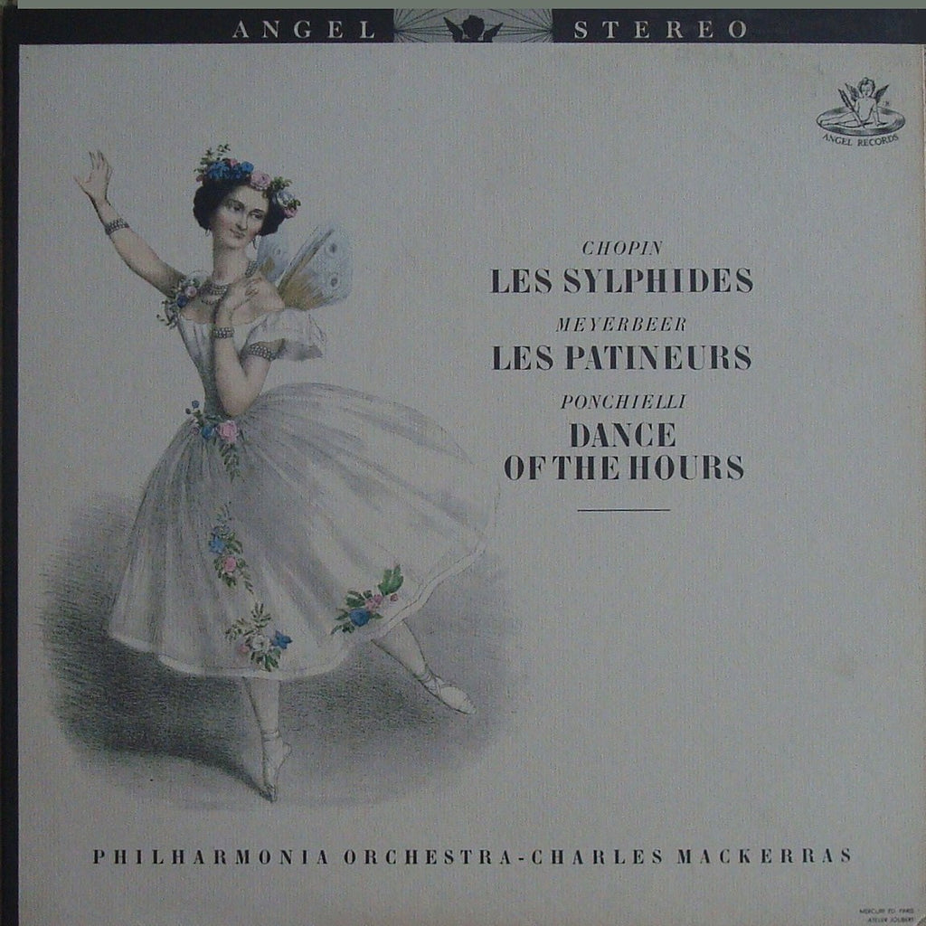 LP - Mackerras: Les Sylphides, Les Patineurs & Dance Of The Hours - Angel S35833