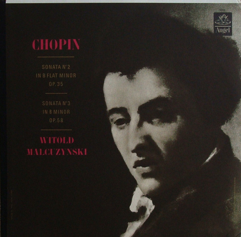 "LP - Malcuzynski: Chopin Piano Sonatas No. 2 ""Funeral March"" & No. 3 (rec. 1953) - Angel 36122"