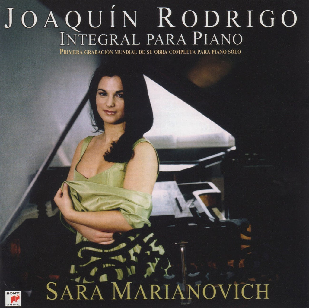 CD - Marianovich: Rodrigo Complete Music For Piano Solo - Sony 898282 (DDD) (2CD Set)