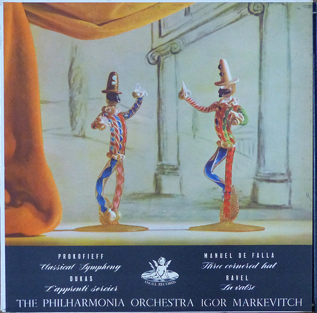 Markevitch: Classical Symphony, La Valse, etc. - Angel 35008 (ds)