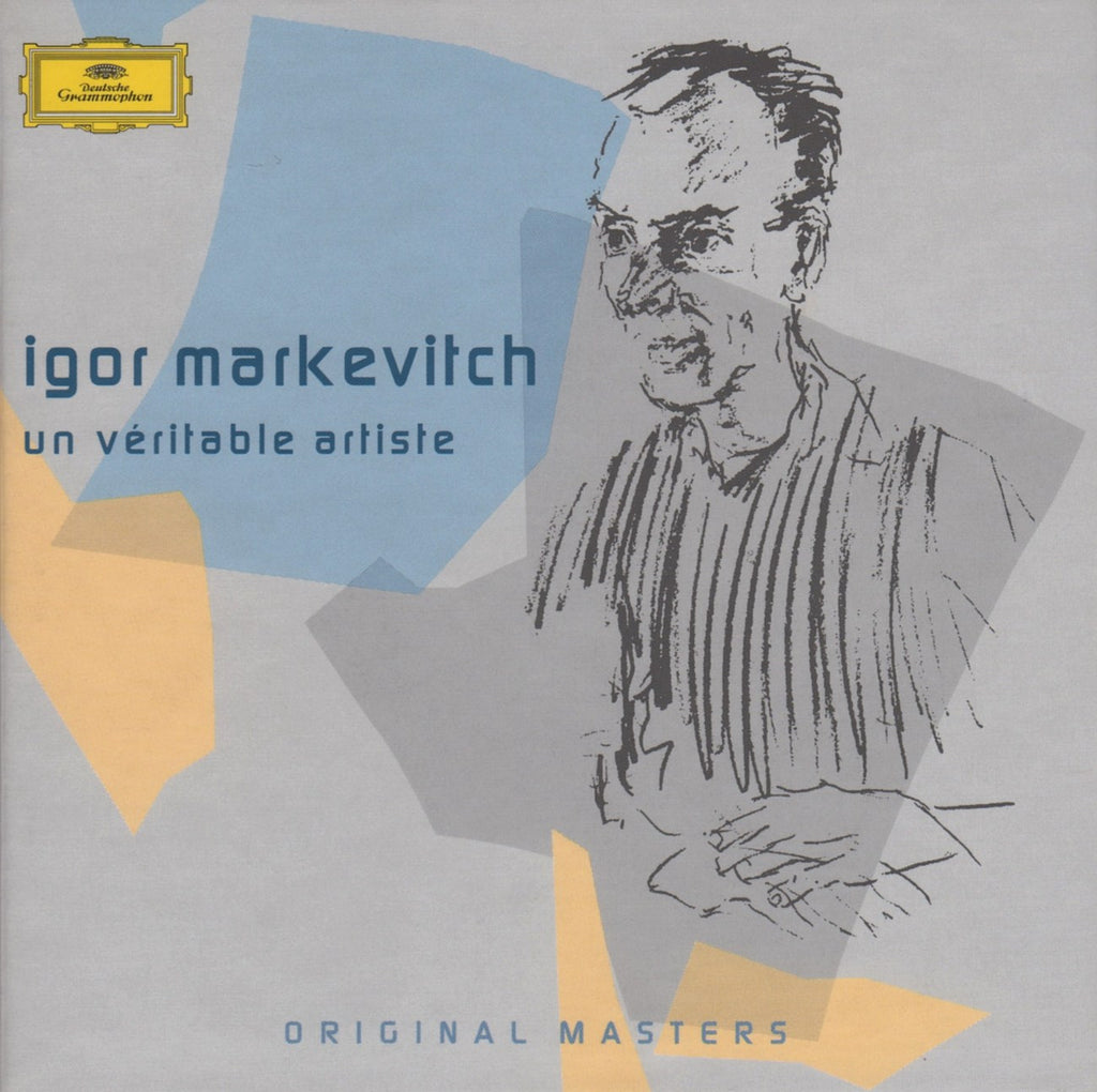 "CD - Markevitch: ""Original Masters"" (Beethoven, Brahms, Et Al.) - DG 474 400-2 (9CD Box Set)"