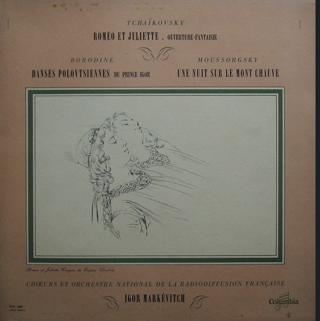 LP - Markevitch: Romeo & Juliet Ov., Polovtsian Dances, Etc. - Columbia FCX 349 (ds)