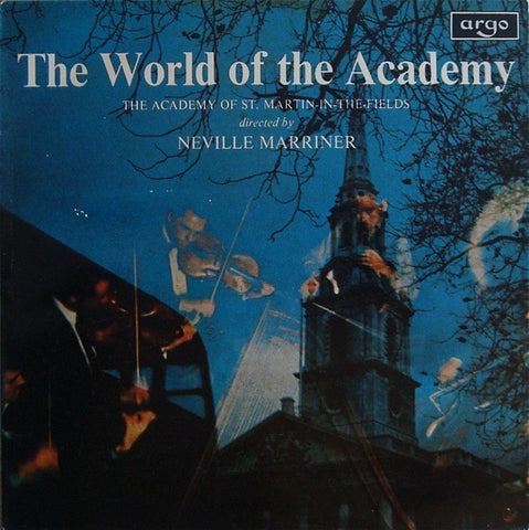 LP - Marriner: The World Of The Academy  (Handel, Mozart, Rossini, Etc.) - Argo APA-A 101